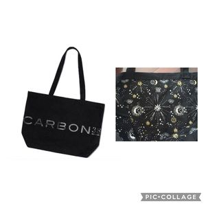New Carbon 38 large utility tote gym bag